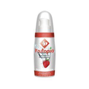 Frutopia - Glidecreme med jordbærsmag - Guide - Oversigt over de fem bedste glidecremer
