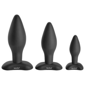 sinful bumbum silicone buttplug - buttplug guide