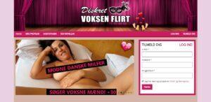DiskretVoksenFlirt.dk - sexdating for modne kvinder og mænd
