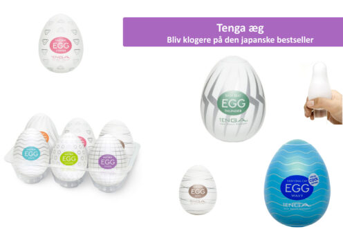 Tenga æg cover - Guide til tenga æg