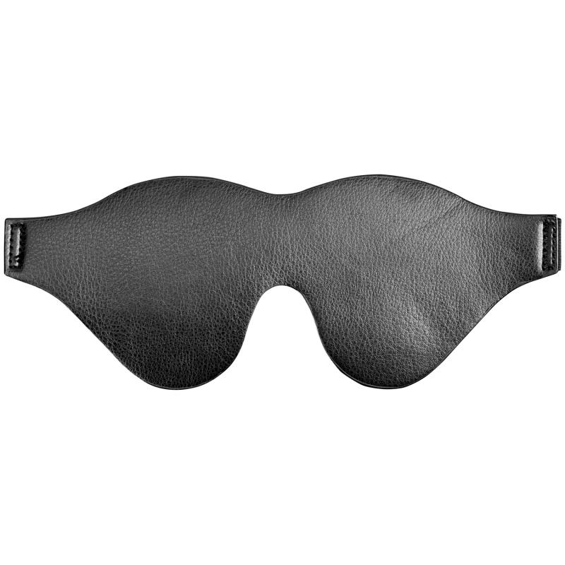 Imiteret læder blindfold