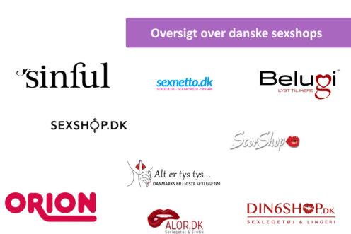 Oversigt over danske webshops - guide cover billede