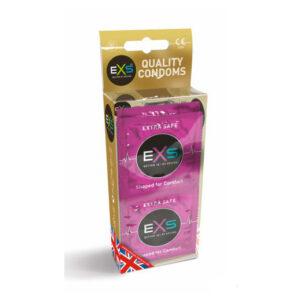12 stk. EXS - Extra safe kondomer æske