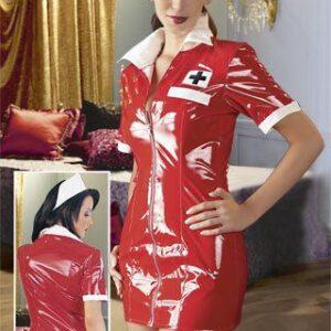 """Black Level Lak-sæt """"sygeplejerske"""" rød"""