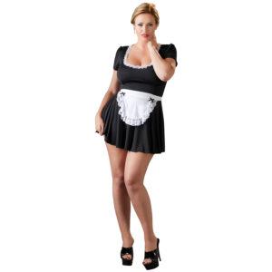 Cottelli French Maid Stuepige Kostume Plus Size-4XL
