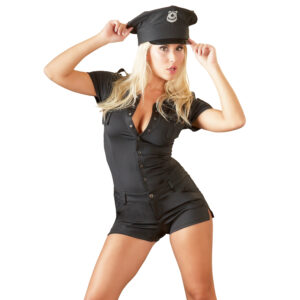 Cottelli Politi Jumpsuit Kostume-Small