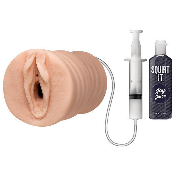 Doc Johnson Squirt It Squirting Pussy Stroker Masturbator
