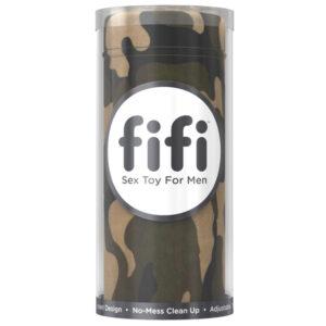 Fifi Male Masturbator med Udskiftelige Engangs Sleeves-Camo