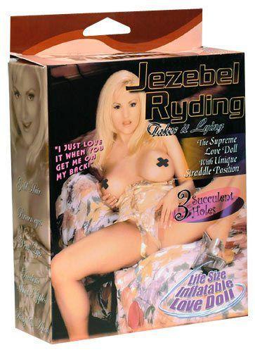 Jezebel Riding Doll Oppustelig Elskovsdukke