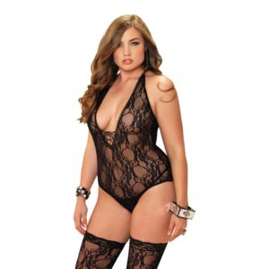 LEG AVENUE BLONDEBODYSTOCKING - PLUSSIZE