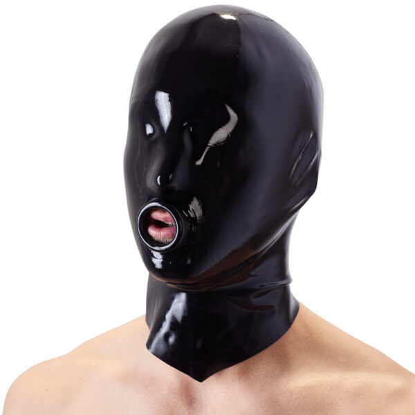 Late X Latex Maske med O-Ring