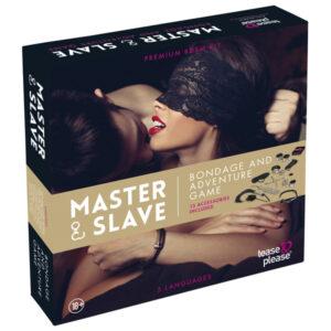 Master & Slave Bondage Spil til Par-Cream