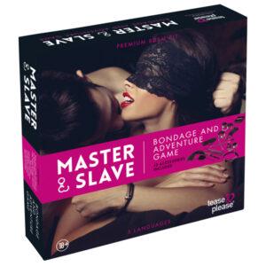 Master & Slave Bondage Spil til Par-Pink