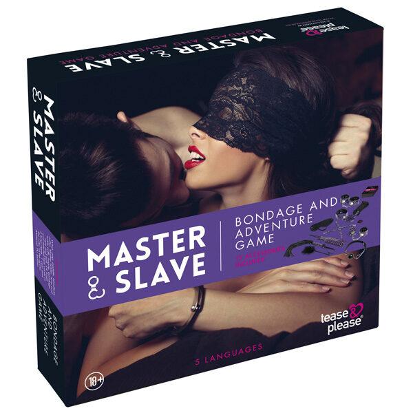 Master & Slave Bondage Spil til Par-Purple