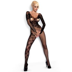Obessive Blonde Bodystocking med Lange Ærmer