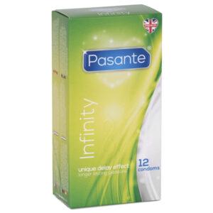 Pasante Infinity Delay Kondomer 12 stk