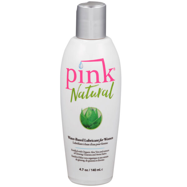Pink Natural Vandbaseret Glidecreme 140 ml