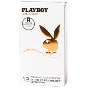 Playboy Ultra Thin Kondomer 12 stk
