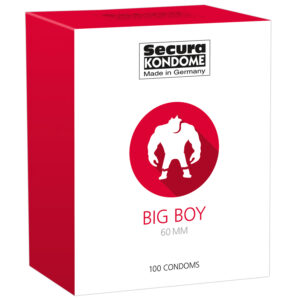 Secura Big Boy Kondomer 100 stk