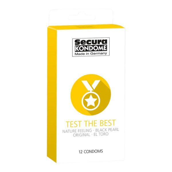 Secura Test the Best kondomer - 12 stk.