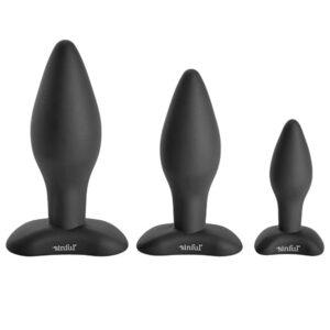 Sinful BumBum Silikone Butt Plug Sæt