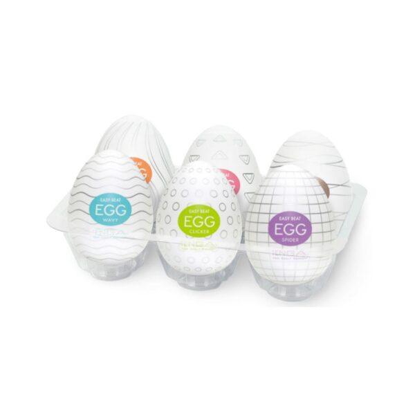 TENGA Eggs 6-pack Onani Håndjob Til Mænd