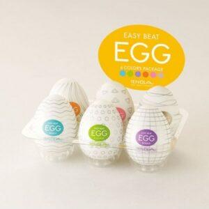 Tenga - Variant 6-Pack Soft Boiled Mastorbation Egg