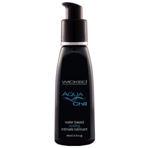 Wicked Aqua Chill Vandbaseret Glidecreme 60 ml