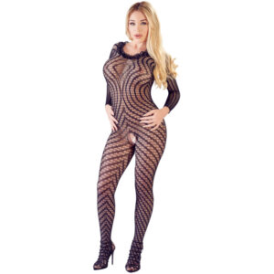 Mandy Mystery Blonde Catsuit