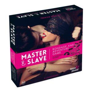 Master & Slave - Frækt Bondage Spil Til Par