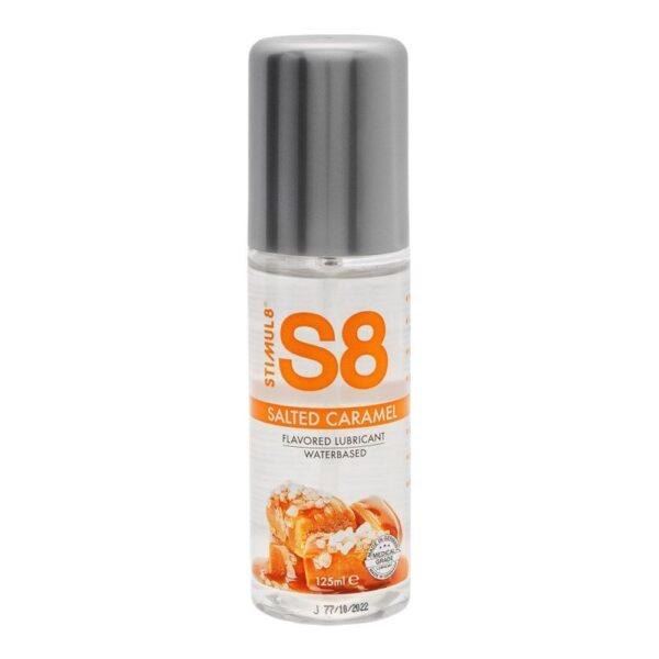 Stimul8 S8 vandbaseret glidecreme med lækker smag - 125 ml