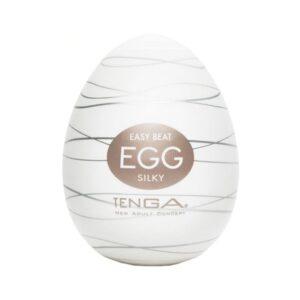 TENGA EGG SILKY - MASTURBATOR