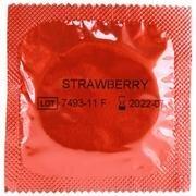 Amor Kondomer, Jordbær, 1 stk.
