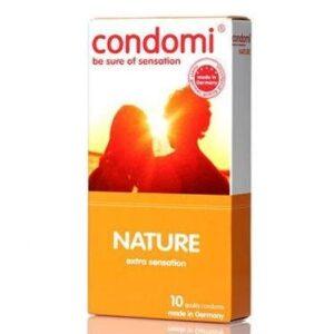 Condomi Nature Kondomer, 10 stk.