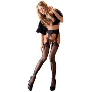 Cottelli Collection Sexy Tights - Strømper Og Strømpeholder