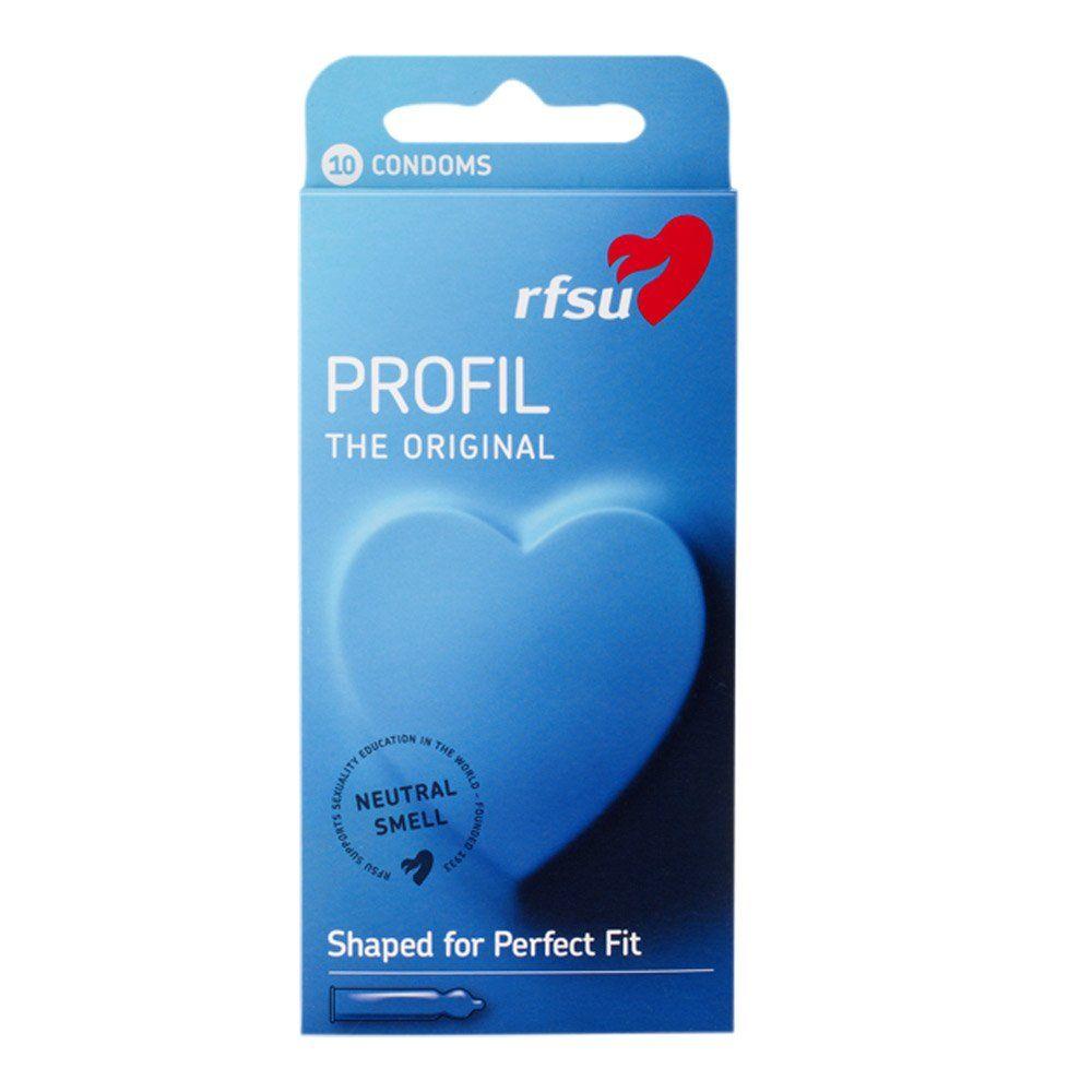 RFSU Profil Kondomer 10 stk. - Temptations