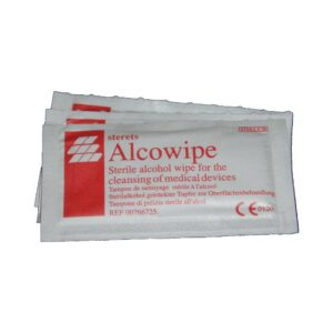 Alcowipe Steril Wipes