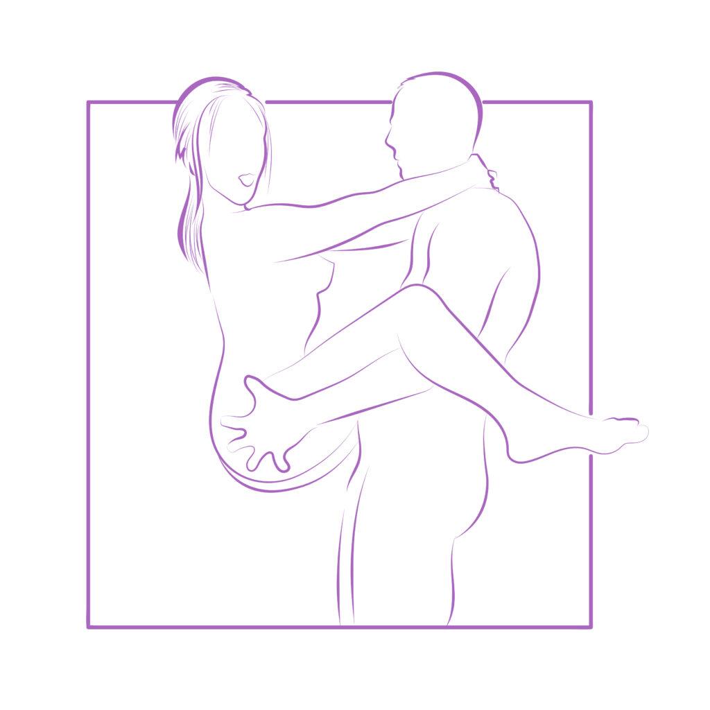 Den stærke mand - Sexstilling