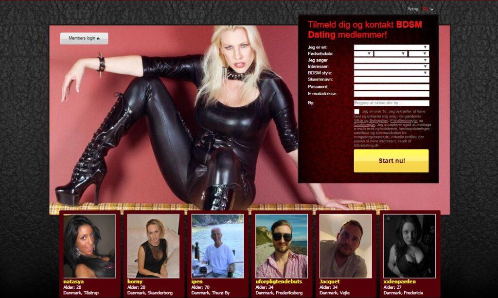 BDSMdating dk - De bedste BDSM-datingsider i Danmark