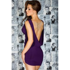Smuk kjole med åben ryg - S/M