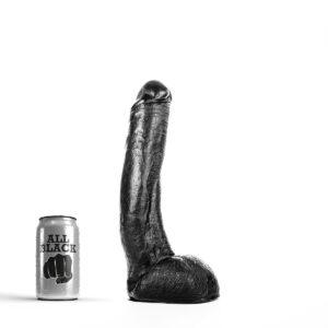 All Black # 15 - Stor Dildo