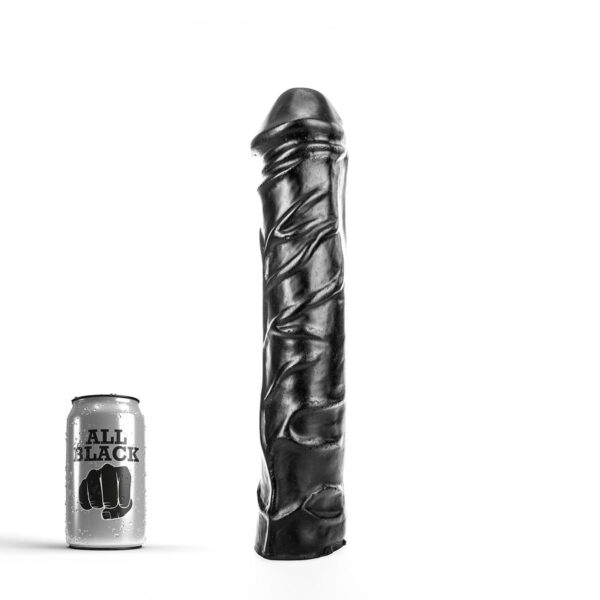 All Black # 19 - Stor Dildo