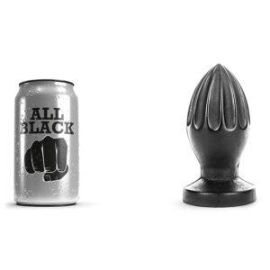 All Black 31 - stor butt plug