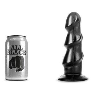 All Black 40 - Rillet Anal-Plug