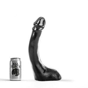 All black - 24 stor dildo
