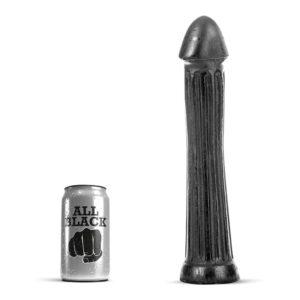 All black - 30 lang dildo