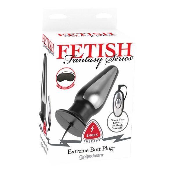 Fetish Fantasy Series Shock Therapy Extreme Butt Plug - Elektro-Sex Buttplug