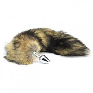 Toria - Soft Fox Tail Anal Plug 40 cm