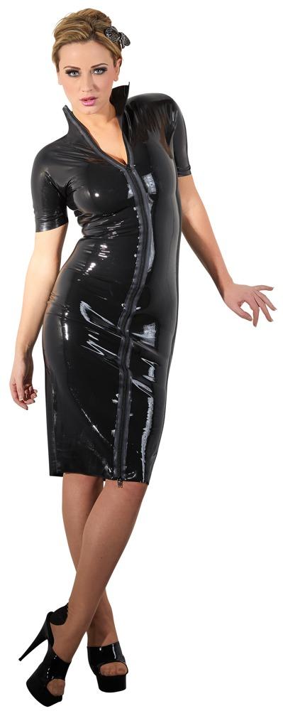 Latex kjole