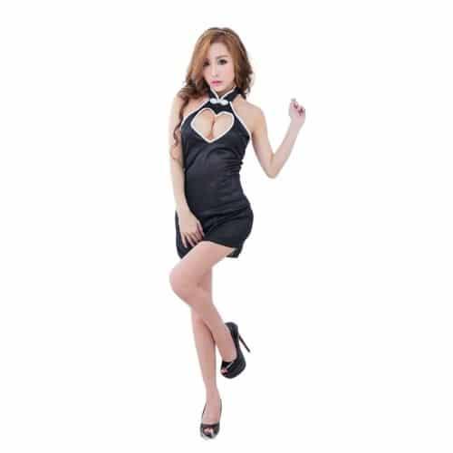 Body Pleasure Elegant satin kjole